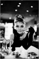 Premium poster  Audrey Hepburn in Breakfast at Tiffany's - Celebrity Collection