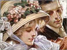 Canvas print  Togetherness - Joseph Christian Leyendecker