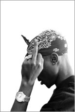 Acrylic print  2pac - Celebrity Collection