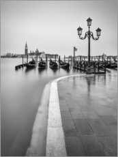 Acrylic print  Flooded Venice - Anke Butawitsch