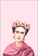 Premium poster  Homage an Frida - Celebrity Collection