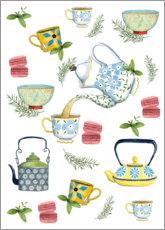Premium poster  Tasteful tea time - Grace Popp