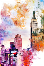 Canvas print  The Empire State Building - Philippe HUGONNARD