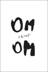 Canvas print  Om sweet Om - Amy and Kurt