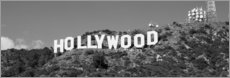 Aluminium print  Hollywood Sign in Los Angeles, California