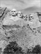 Premium poster  Mount Rushmore in South Dakota