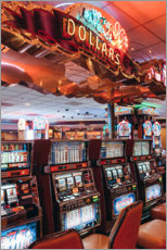 Canvas print  Slot machines in Las Vegas - TBRINK