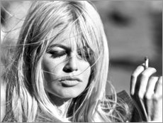 Premium poster  Brigitte Bardot - blown away - Celebrity Collection
