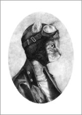 Gallery print  The brave - Mike Koubou