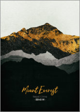 Gallery print  Mount Everest - Tobias Roetsch