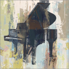 Canvas print  Bluebird piano - Studio W-DH