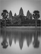 Premium poster Temple of Angkor Wat in Cambodia