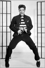 Canvas print  Elvis Presley dancing I - Celebrity Collection