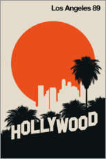 Premium poster  Hollywood, Los Angeles 89 - Bo Lundberg