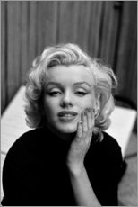 Canvas print  Marilyn Monroe's dreamy look - Celebrity Collection