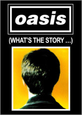 Aluminium print  Oasis - What's The Story... - Entertainment Collection