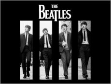 Foam board print  The Beatles - Entertainment Collection