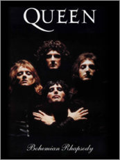 Foam board print  Queen - Bohemian Rhapsody - Entertainment Collection