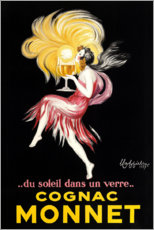 Wall sticker  Cognac Monnet - Leonetto Cappiello