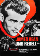 Canvas print  Rebel Without a Cause - Entertainment Collection