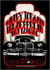 Premium poster  Led Zeppelin & Country Joe And The Fish - Entertainment Collection