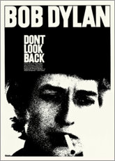 Canvas print  Bob Dylan - Don't Look Back - Entertainment Collection