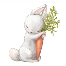 Canvas print  My Carrot - Kidz Collection