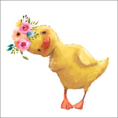 Aluminium print  Spring duckling - Kidz Collection