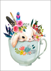 Premium poster  A Cup of Happiness - Kidz Collection