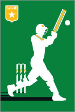 Wood print  Cricket - Bo Lundberg