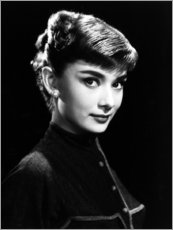 Canvas print  Roman Holiday, Audrey Hepburn