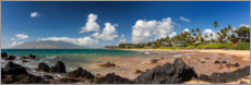 Canvas print  Keawakapu Beach, Hawaii - Circumnavigation
