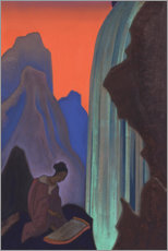 Acrylic print  Song of the Waterfall - Nicholas Roerich