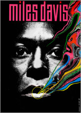 Premium poster  Miles Davis - Tutu - Entertainment Collection