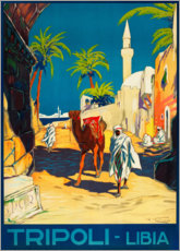 Canvas print  Tripoli, Lybien - Travel Collection