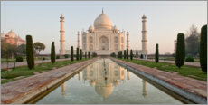 Canvas print  Taj Mahal in Agra
