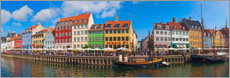 Premium poster  Canal Panorama Nyhavn I