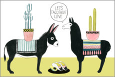 Gallery print  Let's Taco Bout Love I - Grace Popp