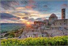 Premium poster Volterra in Tuscany