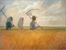Premium poster  Harvest time - Anna Ancher