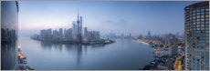 Premium poster Skyline of Pudong