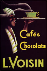 Premium poster  Chocolate cafes (French) - Advertising Collection