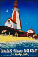 Canvas print  Canada's East Coast (English) - Travel Collection