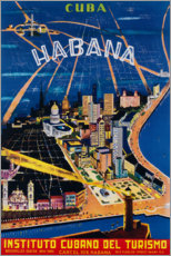 Premium poster  Havana (spanish) - Travel Collection