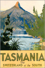 Canvas print  Tasmania, Switzerland of the South (English) - Travel Collection
