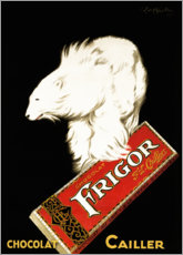 Premium poster  Frigor chocolate (french) - Leonetto Cappiello