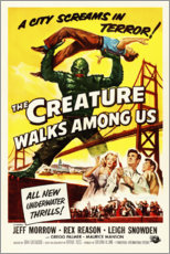 Premium poster  The Creature Walks Among Us - Entertainment Collection