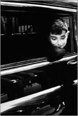 Canvas print  Audrey Hepburn - Celebrity Collection