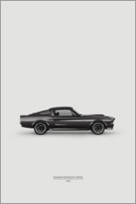 Canvas print  Black racer - Advertising Collection