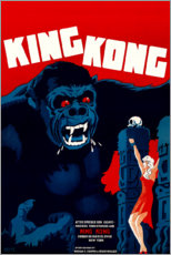 Premium poster  King Kong (Danish) - Entertainment Collection